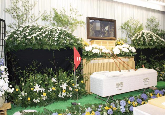 ゴルフ祭壇